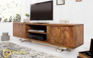 Tủ kệ tivi phòng khách bằng gỗ tự nhiên