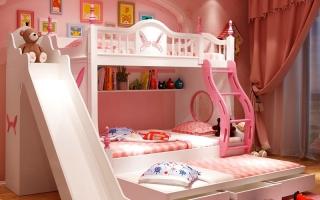 mẫu giường tầng gỗ đẹp U19