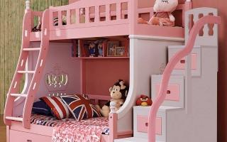 mẫu giường tầng gỗ đẹp U3