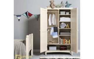 Tủ quần áo trẻ em bằng gỗ U10