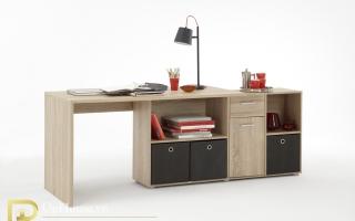mẫu bàn học gỗ đẹp cho bé U43