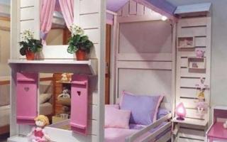 mẫu giường ngủ gỗ đẹp cho bé U12