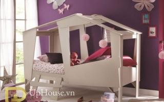 mẫu giường ngủ gỗ đẹp cho bé U13