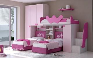 mẫu giường ngủ gỗ đẹp cho bé U3