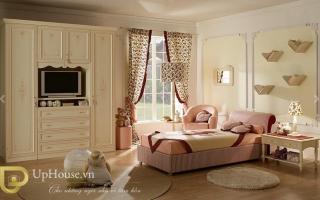 mẫu giường ngủ gỗ đẹp cho bé U50
