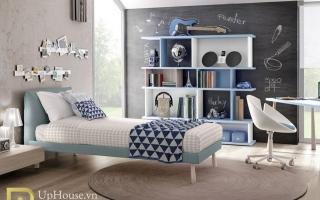 mẫu giường ngủ gỗ đẹp cho bé U56
