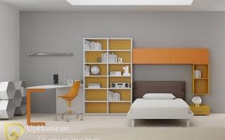 mẫu giường ngủ gỗ đẹp cho bé U60