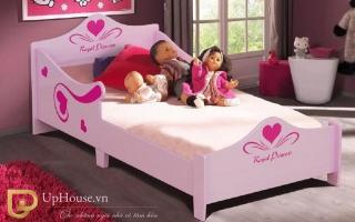 mẫu giường ngủ gỗ đẹp cho bé U65