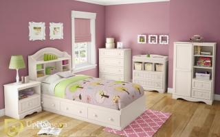 mẫu giường ngủ gỗ đẹp cho bé U67