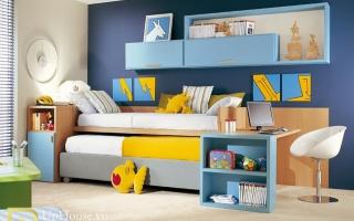 mẫu giường tầng gỗ đẹp U22