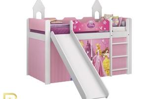 mẫu giường tầng gỗ đẹp U9