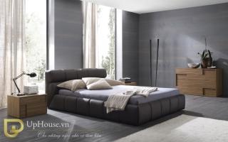 Mẫu giường ngủ gỗ đẹp U14