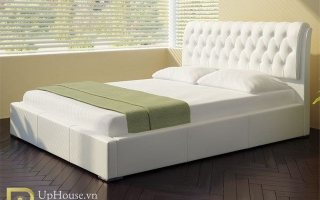 Mẫu giường ngủ gỗ đẹp U15