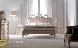 Mẫu giường ngủ gỗ đẹp U16