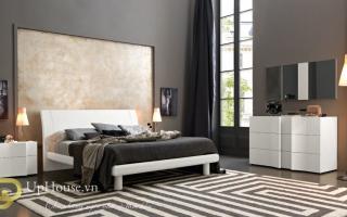 Mẫu giường ngủ gỗ đẹp U33