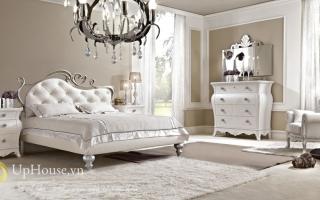 Mẫu giường ngủ gỗ đẹp U37