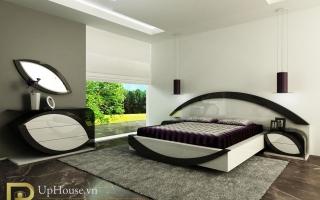 Mẫu giường ngủ gỗ đẹp U51