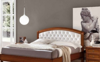 Mẫu giường ngủ gỗ đẹp U56