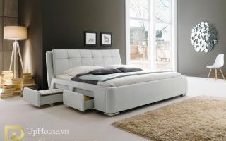Mẫu giường ngủ gỗ đẹp U64