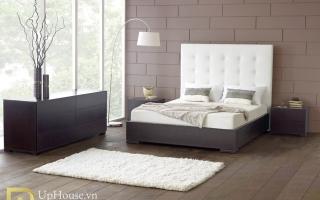 Mẫu giường ngủ gỗ đẹp U69