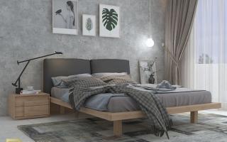 Mẫu giường ngủ gỗ đẹp U16a