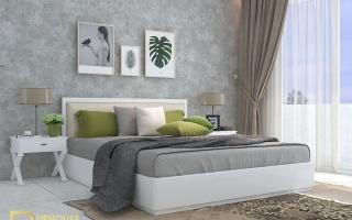 Mẫu giường ngủ gỗ đẹp U20