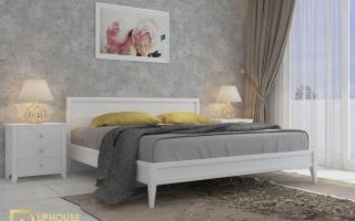 Mẫu giường ngủ gỗ đẹp U23