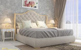 Mẫu giường ngủ gỗ đẹp U35
