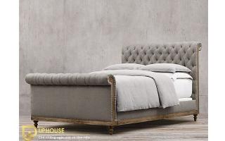 Mẫu giường ngủ gỗ đẹp U39