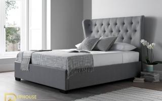 Mẫu giường ngủ gỗ đẹp U42