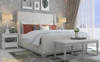 Mẫu giường ngủ gỗ đẹp U44