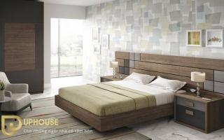 Mẫu giường ngủ gỗ đẹp U5