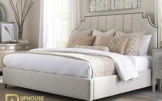 Mẫu giường ngủ gỗ đẹp U54