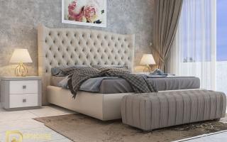 Mẫu giường ngủ gỗ đẹp U56a