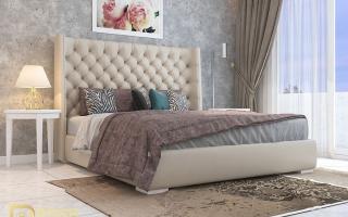 Mẫu giường ngủ gỗ đẹp U59a