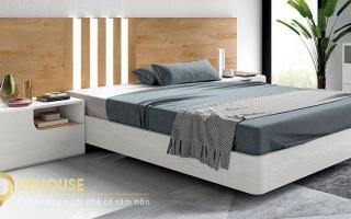 Mẫu giường ngủ gỗ đẹp U6