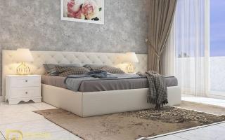 Mẫu giường ngủ gỗ đẹp U60a