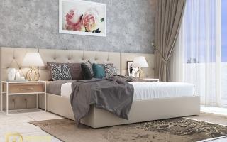 Mẫu giường ngủ gỗ đẹp U61a