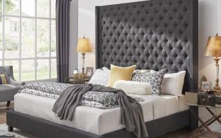 Mẫu giường ngủ gỗ đẹp U68