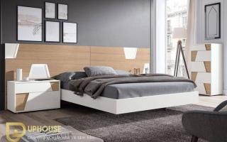Mẫu giường ngủ gỗ đẹp U9