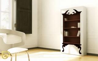 Mẫu tủ kệ gỗ trang trí đẹp U121