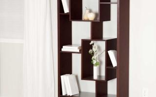Mẫu tủ kệ gỗ trang trí đẹp U71