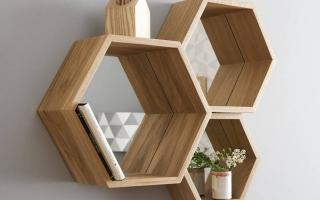 Mẫu tủ kệ gỗ trang trí đẹp U88