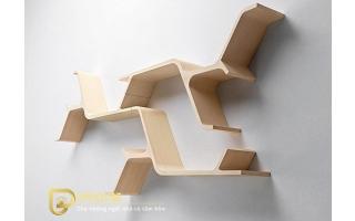 Mẫu tủ kệ gỗ trang trí đẹp U119