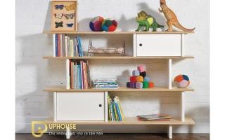 Mẫu tủ kệ gỗ trang trí đẹp U125