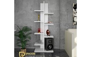 Mẫu tủ kệ gỗ trang trí đẹp U22