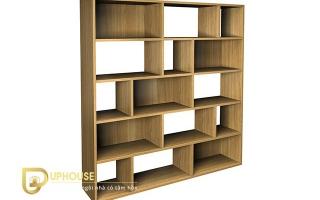 Mẫu tủ kệ gỗ trang trí đẹp U93