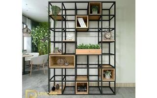 Mẫu tủ kệ gỗ trang trí đẹp U104