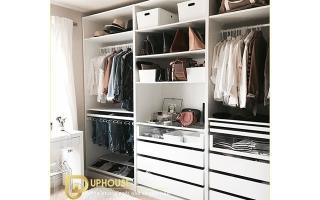 Mẫu tủ quần áo gỗ đẹp U60