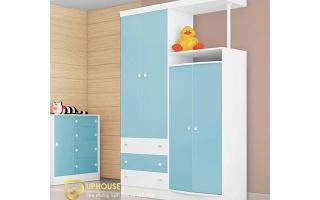 Tủ quần áo trẻ em bằng gỗ U25